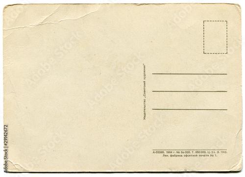 Fotografía  antique post card