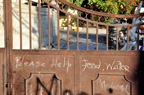 Fototapeta Haiti Earthquake 2010