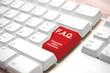 Tastatur - FAQ rot