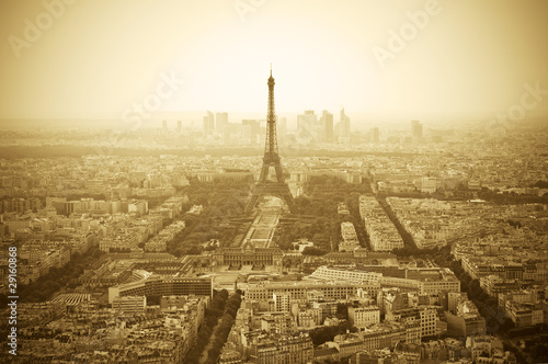 Photo Stands Paris Paris skyline