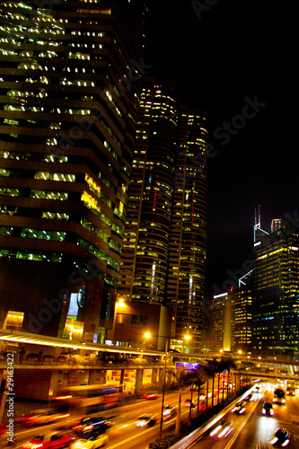 hong kong city at night - 29163422