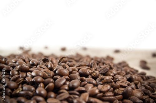 Printed kitchen splashbacks Coffee beans Coffee beans