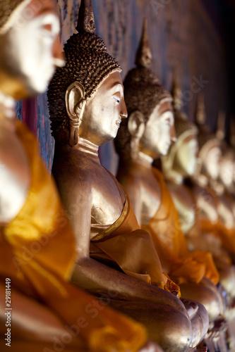 bouddha statue Canvas Print