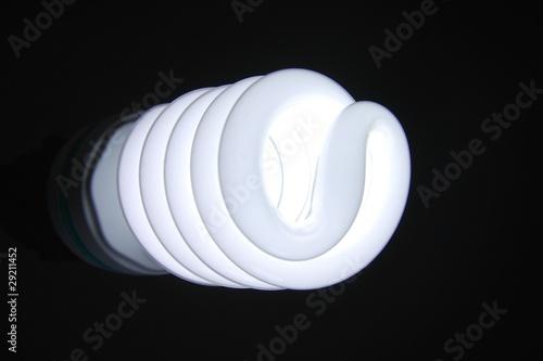 Papiers peints Tunnel Spiral lamp