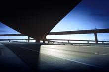 Modern Highway Interchage Bridge