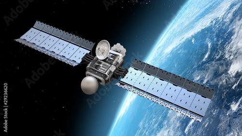 Fotografie, Tablou  modern satellite