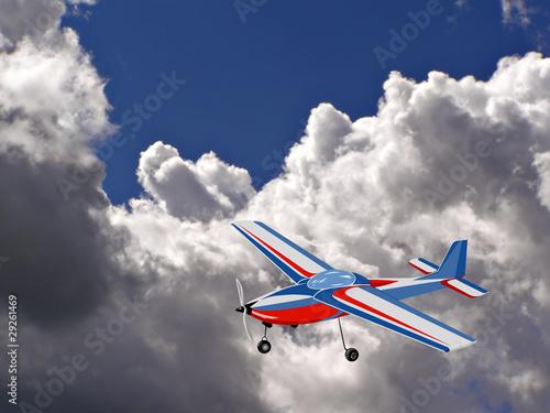 Papiers peints Avion, ballon cloud on sky