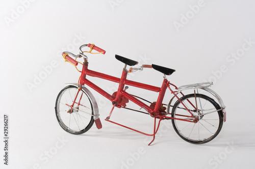 Recess Fitting Bicycle Tamdem miniature