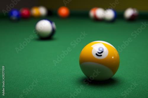 Valokuva  Billiard game