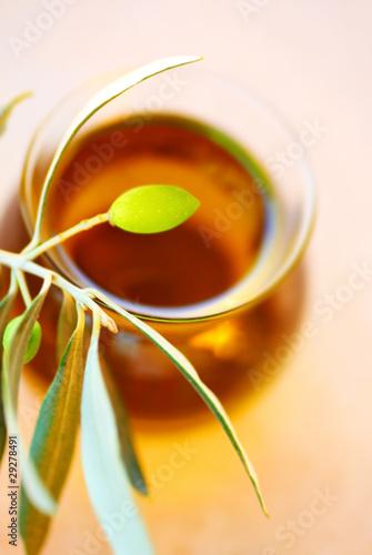 Fototapety, obrazy: Ripe fresh green olives