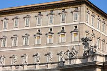 Apostolic Palace, Pope's Residense And Window
