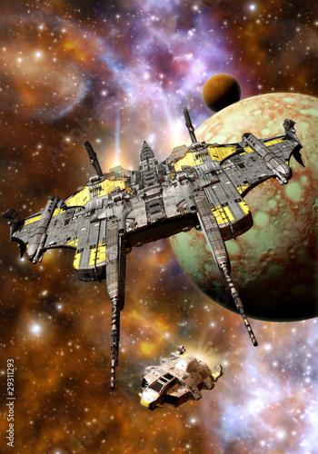 statek-kosmiczny-w-galaktycznej-podrozy