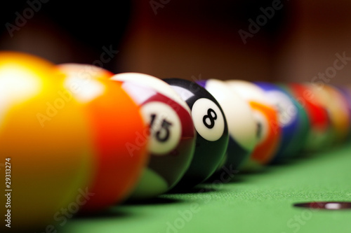 Fotografie, Obraz Billiard time!