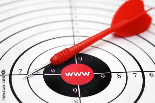 Photo  Internet target