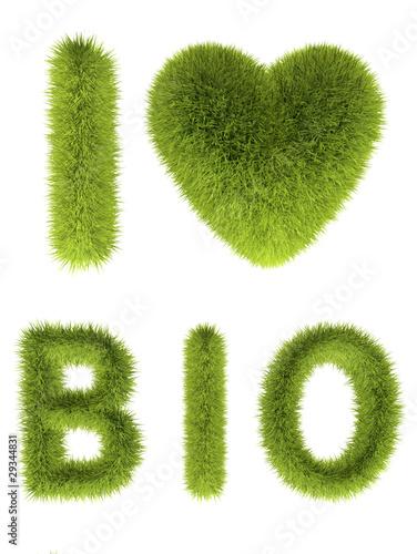 Plakaty ekologiczne   zielona-trawa-serca
