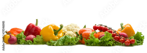 Foto op Plexiglas Verse groenten vegetable background