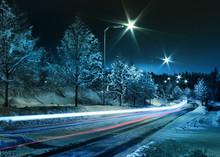 Winter Street Traffic