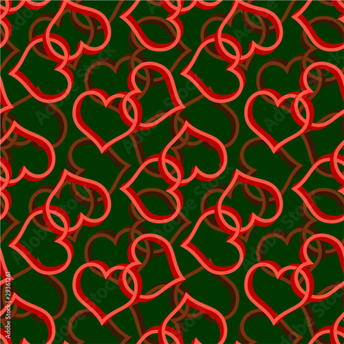 dwa-bezszwowe-tlo-wzor-serca