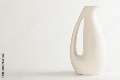 ceramic vase Canvas Print
