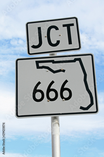 Florida Junction 666 Poster