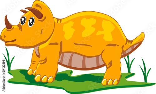 Photo  baby triceratops