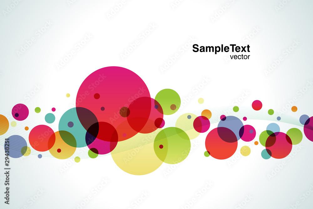 Background Color Bubble