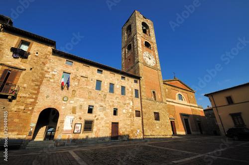 Fotografie, Obraz  Colle Val d'Elsa - La piazza