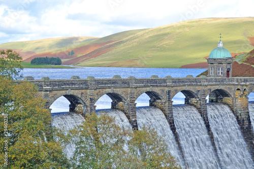 Elan Valley Dam Canvas Print