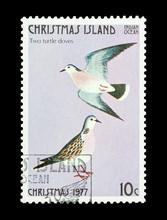 Christmas Island Stamp Second Day Of Christmas
