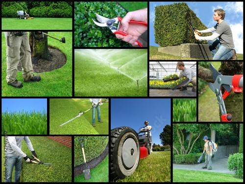 Fotografie, Obraz  landscaping company