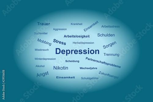 Freundin depressionen trennung