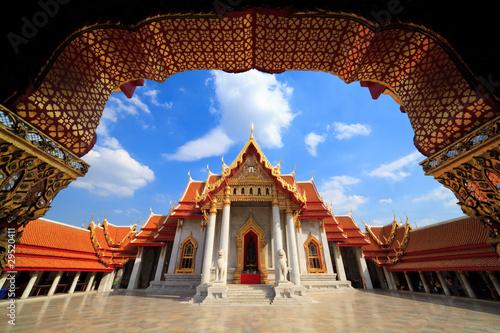 Cadres-photo bureau Bangkok The Marble Temple(Wat Benchamabophit), Bangkok, Thailand