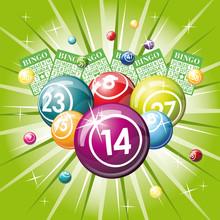 Bingo Or Lottery Balls