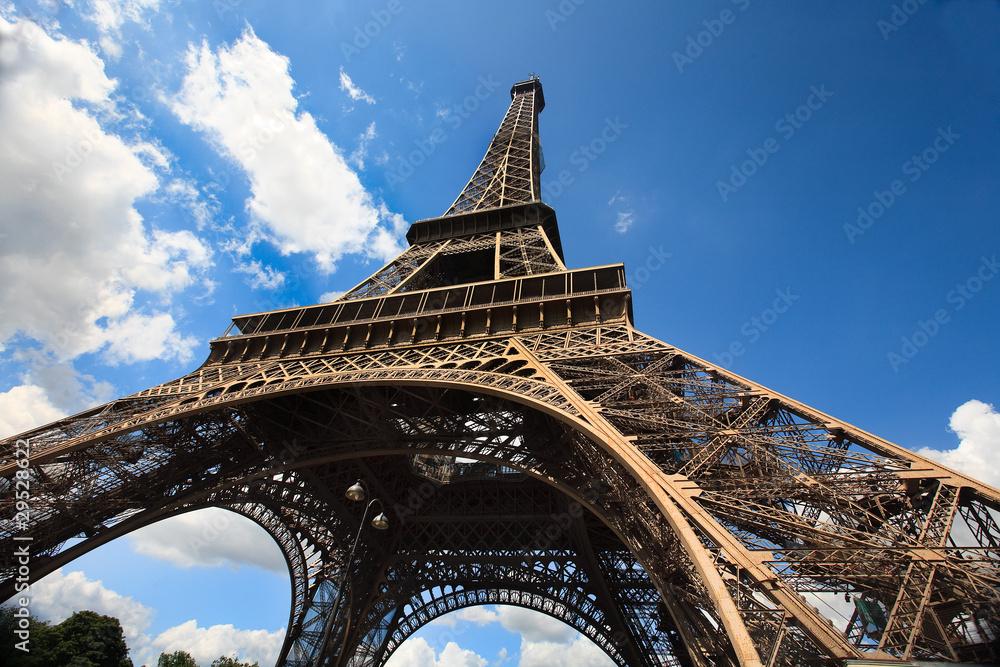 Fototapeta Tour Eiffel Large - obraz na płótnie