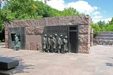 Hunger Sculpture Of Franklin Roosevelt Memorial