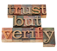 Trust But Verify Phrase