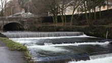 Waterfall On The River Tavy, T...