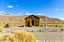 Jailhouse Of Ballarat, A Ghost Town In Inyo County