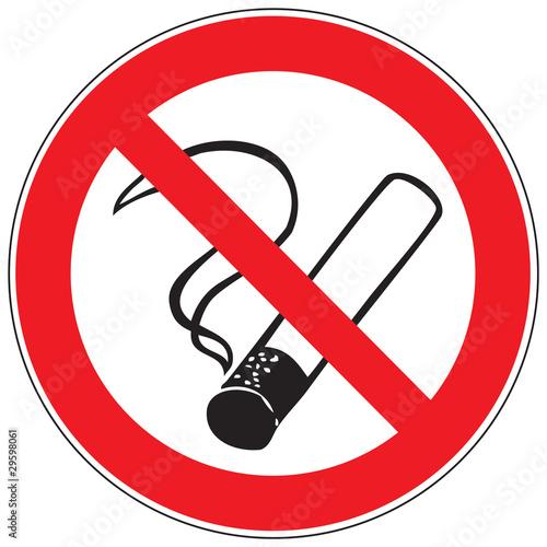 Fotobehang Rook Zeichen Rauchen verboten