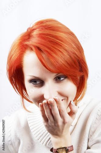 Valokuva  The smiling  girl