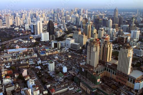 Foto op Aluminium Kuala Lumpur Bangkok from the sky