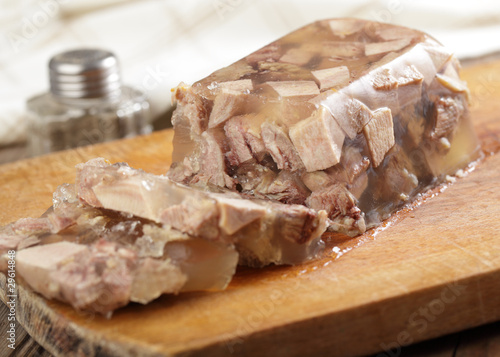 Beef tongue in aspic Canvas Print