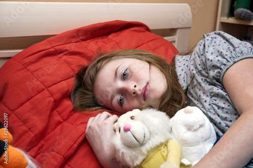 Fotografija  Печальный ребенок