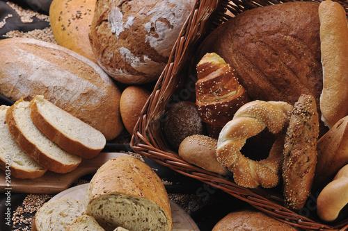 Foto op Plexiglas Bakkerij fresh bread food group