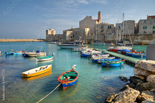 Photo Panoramic view of Giovinazzo. Apulia.