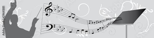 Photo bannière chef d'orchestre