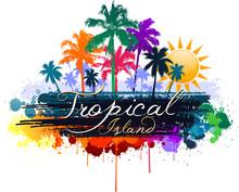 Tropical Island Summer Design