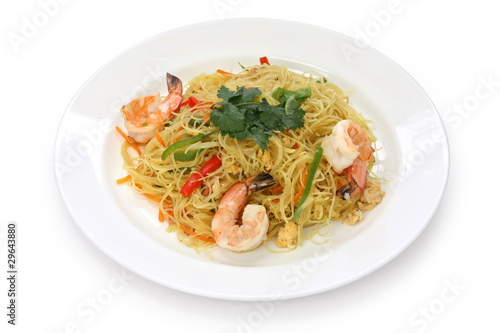 Photo  singapore style noodles