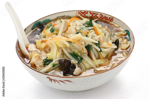 Fotografie, Obraz  sunmarmen , japanese starchy ramen noodles