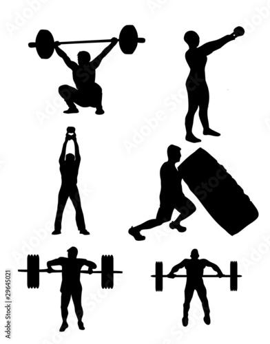 Fotografie, Obraz  DKZ Workout 1